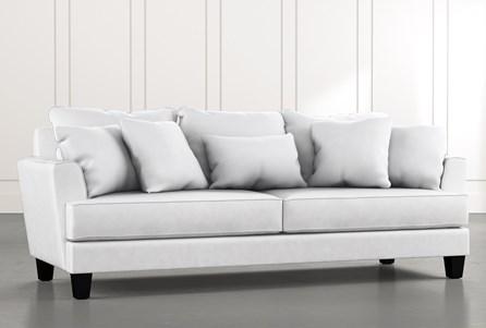 Elijah II White Sofa