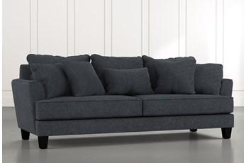 Elijah II Black Sofa