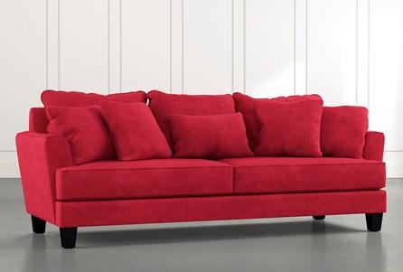 Elijah II Red Sofa