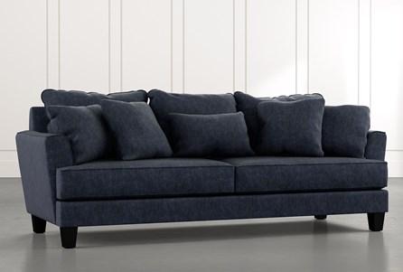 Elijah II Navy Blue Sofa