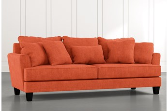 Elijah II Orange Sofa