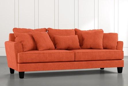 Elijah II Orange Sofa