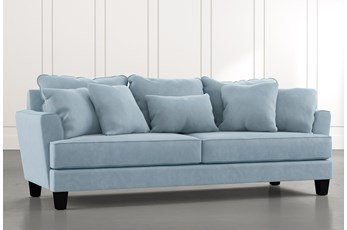 Elijah II Light Blue Sofa
