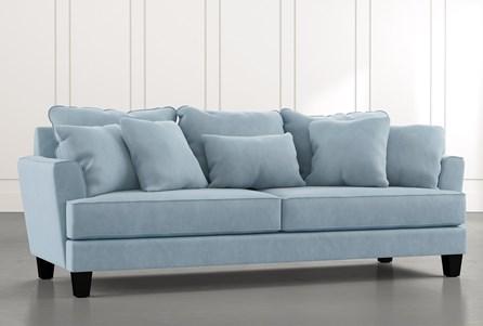 Elijah II Light Blue Sofa