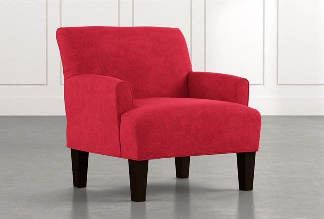 Elijah II Red Accent Chair - 360
