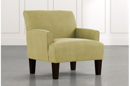 Elijah II Green Accent Chair