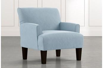 Elijah II Light Blue Accent Chair