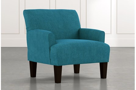 Elijah II Teal Accent Chair