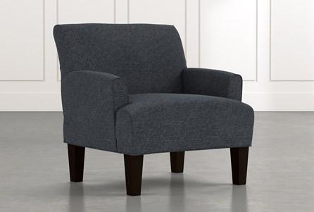 Elijah II Black Accent Chair