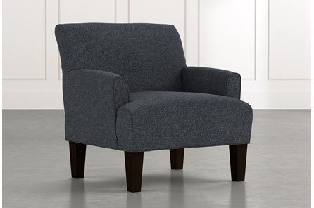 Elijah II Black Accent Chair
