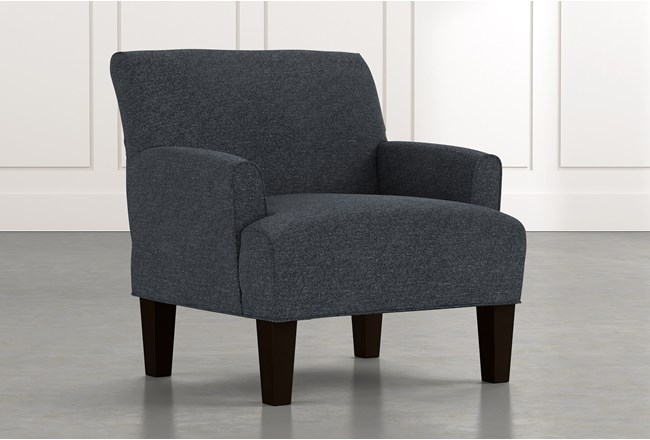Elijah II Black Accent Chair - 360