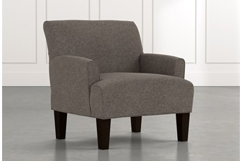 Elijah II Dark Grey Accent Chair