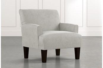 Elijah II Light Grey Accent Chair