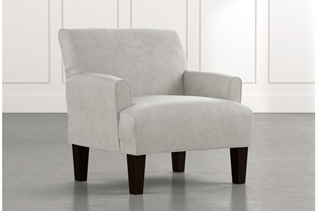 Elijah II Light Grey Accent Chair