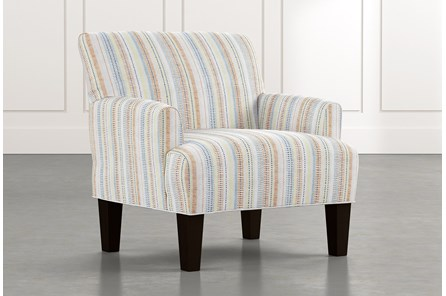 Elijah Multi Striped Accent Chair