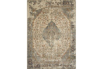 """6'3""""x9'2"""" Rug-Magnolia Homes Evie Sand/Multi By Joanna Gaines"""