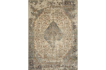 110X156 Rug-Magnolia Homes Evie Sand/Multi By Joanna Gaines