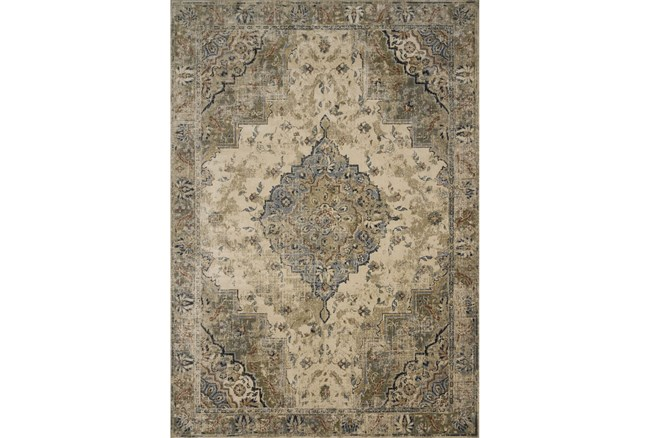 61X92 Rug-Magnolia Homes Evie Sand/Sage By Joanna Gaines  - 360