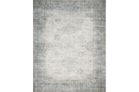 27X45 Rug-Magnolia Home Lucca Mist/Ivory By Joanna Gaines - Main