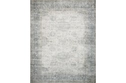 30X114 Rug-Magnolia Home Lucca Mist/Ivory By Joanna Gaines