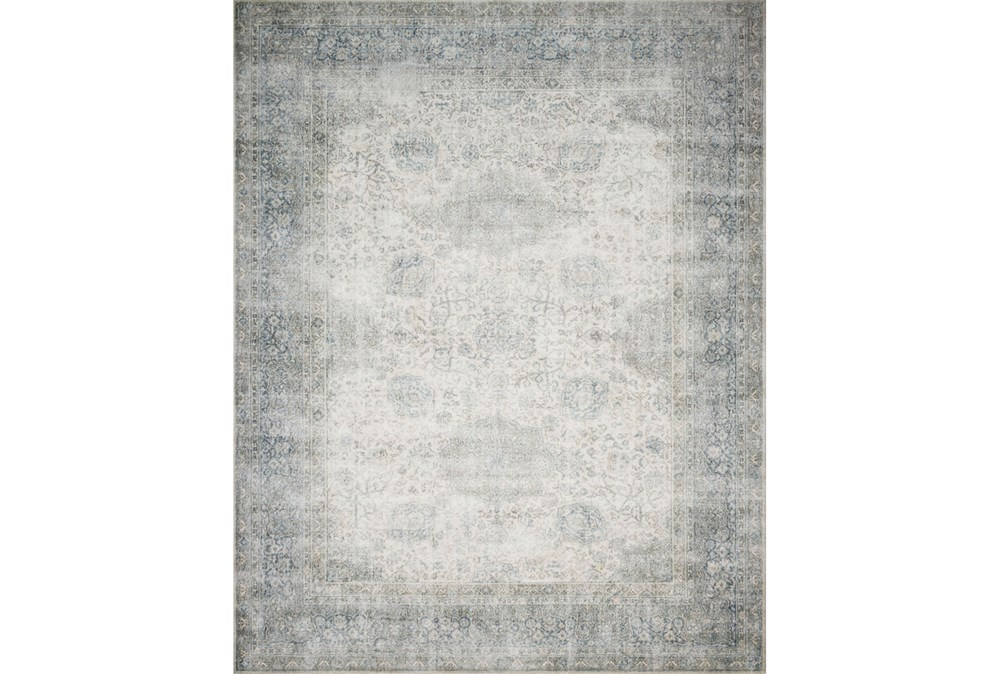 """3'7""""x5'5"""" Rug-Magnolia Home Lucca Mist/Ivory By Joanna Gaines"""