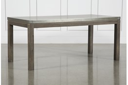 Galvanized Dining Table