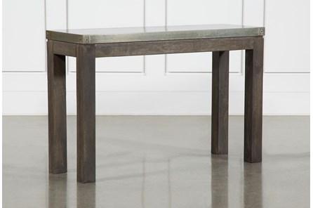 Galvanized Console Table