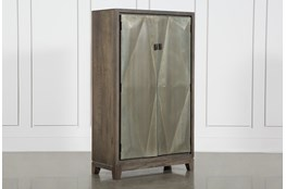 3D Galvanized 2 Door Cabinet