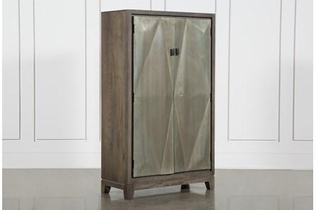 3D Galvanized 2 Door Cabinet
