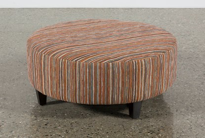 Astounding Perch Fabric Large Round Ottoman Caraccident5 Cool Chair Designs And Ideas Caraccident5Info