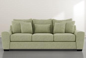 """Parker II Green 101"""" Sofa"""