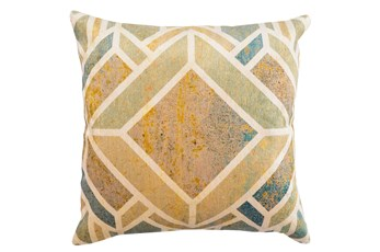 Accent Pillow-Diamond Distressed Dijon 20X20