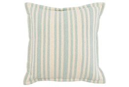 Accent Pillow-Linen And Taupe Stripe 20X20