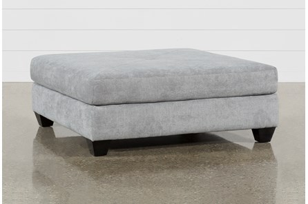 Sierra III Ash Square Cocktail Ottoman
