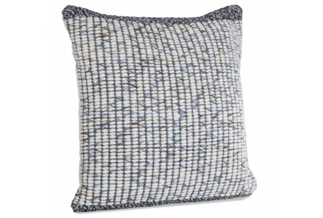 Accent Pillow-Felted Wool Multi Color 22X22 - 360