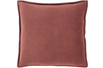 Accent Pillow-Sienna Velvet Flange 18X18