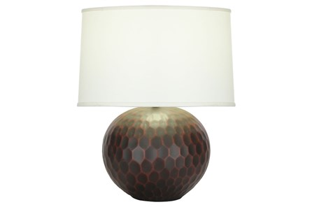 Table Lamp-Rubbed Merlot