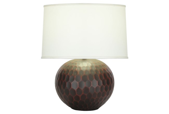 Table Lamp-Rubbed Merlot  - 360