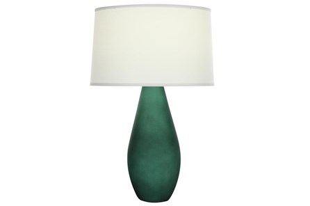 Table Lamp-Dark Matte Green