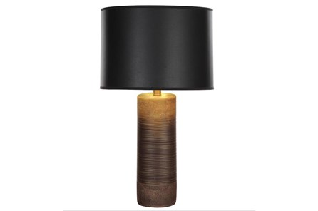 Table Lamp-Gold And Black