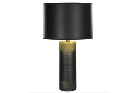Table Lamp-Gold And Green