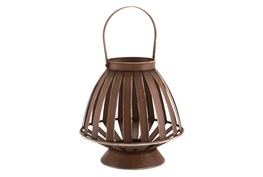 Brown Bamboo Lantern