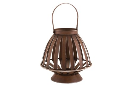 Brown Bamboo Lantern - Main