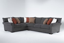 """Aurora II 2 Piece 137"""" Sectional With Right Arm Facing Sofa"""