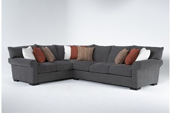 "Aurora II 2 Piece 137"" Sectional With Right Arm Facing Sofa"