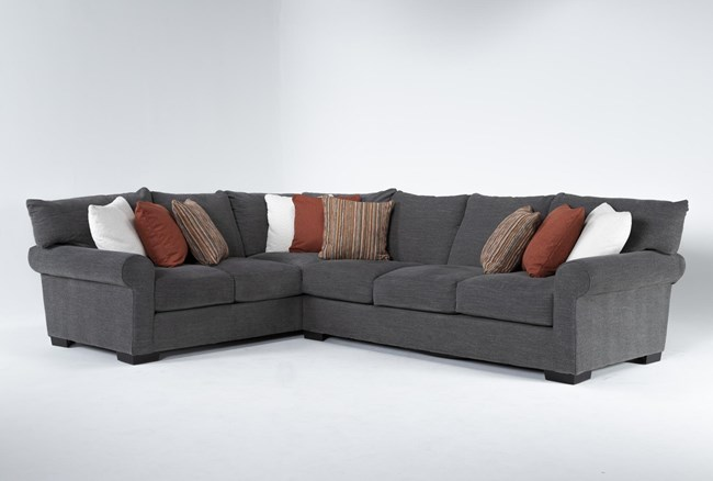 """Aurora II 2 Piece 137"""" Sectional With Right Arm Facing Sofa - 360"""
