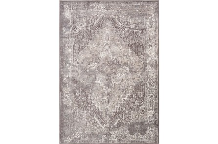 90X114 Rug-Fields Traditional Taupe