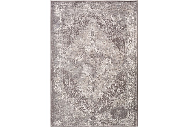90X114 Rug-Fields Traditional Taupe - 360