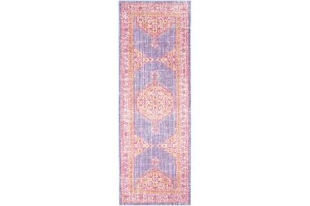 35X94 Rug-Mckenna Purple/Pink