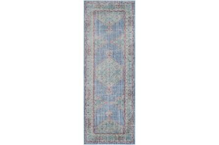 35X94 Rug-Mckenna Blue